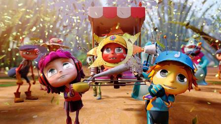 Beat Bugs Dibujos, The Beatles y a Bailar